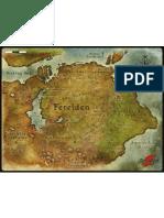 Dragon Age RPG, Set 1 - Ferelden Map