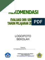 4 Contoh Format Rekomendasi Eds Untuk Rks