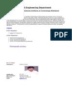 Civil Engineering Department -Vinai