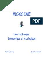 microchimie