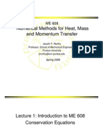 Numerical Methods in Heat Mass Momentum Transfer (Lecture Notes)JayathiMurthy