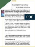 Estudo ERP em Pequenas Empresas