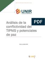 Análisis conflictividad TIPNIS  y potenciales de paz