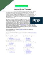 Historical Jesus Theories