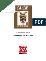 Guide Crus RVF 2010