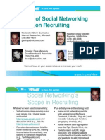 HRcom Impact of Social Networking on Recruiting