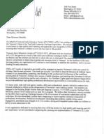 Veeu-Aft Letter of Support, Vt Rttt.elc