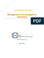 SEA Management Workshop Facilitator Guide August 2011