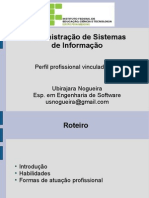 12 - Perfil Profissional Vinculado a Tecnologia Da Informacao