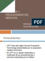 3 c Codigos y Procedimeintos Medicos Capacitacion