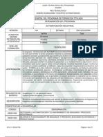 Programa Formacion Automatizacion Industrial