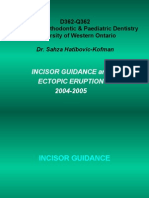 Incisor Guidance Ppt