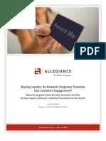 Buying Loyalty Program White Paper