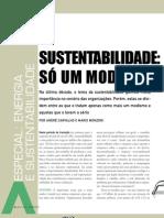 Sustentabilidade Modismo