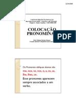 Mirian Portugues 8a Serie Colocacao Pronominal