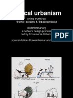 Tactical Urbanism | Dreamhamar's online workshop | Session 03