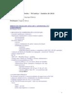 D. Administrativo - Regime Do Emprego Publico - Rogerio Neiva