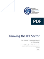 Growing the ICT Sector