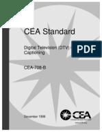 CEA-708-B
