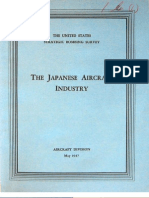 USSBS Report 15, The Japanese Aircraft Industy