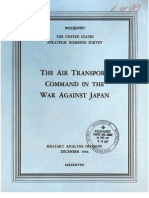 USSBS Report 68, The Air Transport Command in the War Against Japan