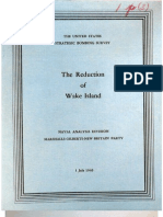 USSBS Report 74, The Reduction of Wake Island