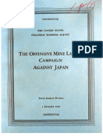 USSBS Report 78, The Offensive Mine Laying Campaign Against Japan