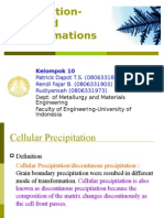 Cellular Precipitation