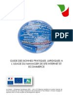 Guide Juridique Site Internet
