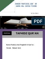 Proposal Kegiata Al Quran