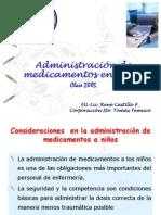 Admin is Trac Ion de Medicamentos en Ninos