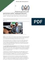 WikiLeaks Cables Eritrea Guardian.co