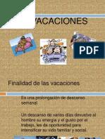 derecho laboral vacaciones