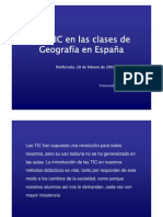 Las TIC en las clases de Geografía