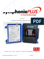 NRG SymphoniePLUS Data Logger Manual - Rev. 1.05