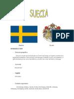 Trabajo de Geografia Suecia