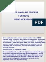IDoc Error Handling Using Workflow
