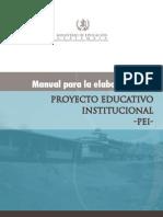Manual Pei Centros Educativos