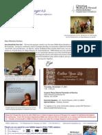 October 2011 Heartchangers Ministry Newsletter