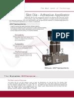 APEX Slot Die Adhesive Applicator