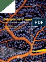 E&Y Entrepreneurship Barometer, Part 2