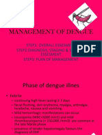 Management of Dengue
