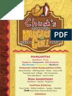 Chuck's Storrs menu update _06/22/11
