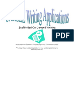 CAHSEE Writing Applications - Scaffold Ed on-Demand Writing