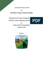 Cherokee County Farmland Preservation Plan