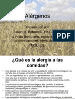 Allergen Spanish