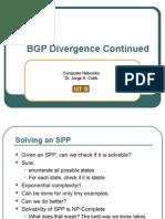 BGP Divergence Cont