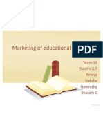 The rising importance of digital marketing for education sector.