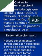 Sistematizacion - Selener