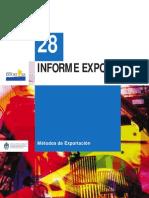 IE28comex - Metodos de exportación